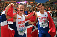 Norway's teenage superstar Ingebrigtsen edges out brother to complete European double