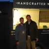 Liam Neeson personally hired a waffle truck for the crew of a movie he's filming in Northern Ireland