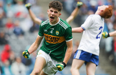 Kerry survive Monaghan comeback to book place in fifth successive minor final