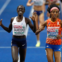 One lap to go! Embarrassment as Salpeter denied women's 5,000m medal after early celebration