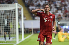 Lewandowski hat-trick as ruthless Bayern open German season with 5-0 Super Cup victory