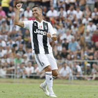 Ronaldo scores on his Juventus debut as 5,000 fans cram in to see Portuguese superstar