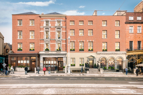 CGI of proposed redevelopment of 33-36 Dawson Street