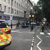 Westminster car crash: Man arrested on suspicion of terrorist offences
