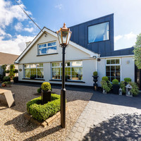 Two sides to the story for this €1.45m extended Blackrock bungalow