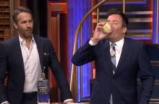Ryan Reynolds and Jimmy Fallon played a vile drinking game together on The Tonight Show