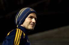 """VIDEO: """"I haven't done that for years."""" David Beckham scores a beauty..."""