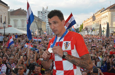Croatian World Cup hero Mandzukic announces international retirement at 32