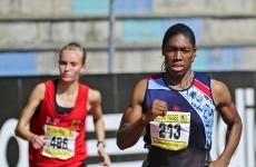 Not there yet: Semenya still short of Olympic standard