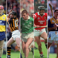 8 counties included as GAA to honour hurling stars of the 90s on All-Ireland final day