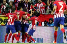 Atletico put four past Lopetegui's Real Madrid to lift Super Cup after extra-time