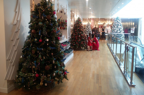 The Christmas store at Brown Thomas Grafton Street, which opened on August 16
