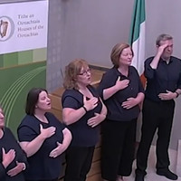 Sign language version of Amhrán na bhFiann to be performed at today's All-Ireland hurling final