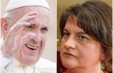 Arlene Foster turns down invite to see Pope Francis, cites holiday plans