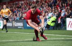 Sweetnam superb as Munster start season with win over Kidney's London Irish