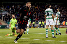 Former Leeds youngster on target as Bohs edge Shamrock Rovers in Dublin Derby