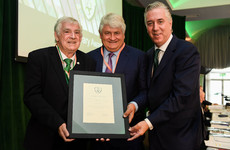 Denis O'Brien has been named as the Honorary Life President of the FAI