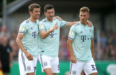 Lewandowski saves Bayern from humiliation in village team's 'game of the century'