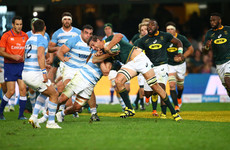 Six Springbok tries compensate for Pollard kicking woes in win over Argentina
