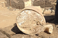 This really, really old piece of cheese has been found in Egypt