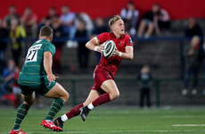 'Not a perfect' debut but Munster fullback Haley is an exciting addition
