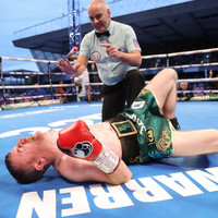 Paddy Barnes wiped out by crippling body shot in maiden world title shot at Windsor