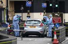 Man charged with attempted murder after crashing car into barriers in Westminster