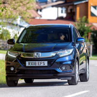 Honda has updated its HR-V crossover with noise cancelling technology