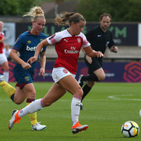 Ireland captain McCabe leads the way with Arsenal brace on busy day across the water