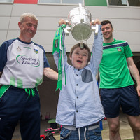 Limerick's All-Ireland champions visit children's hospitals with Liam MacCarthy