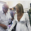 Paul Costelloe shared some insights into the making of Vogue Williams' wedding dress