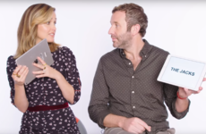 Chris O'Dowd quizzed Rose Byrne on Irish slang and she hadn't a clue