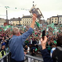Newly crowned All-Ireland champions Limerick receive heroes' welcome home
