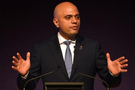 UK Home Secretary Sajid Javid