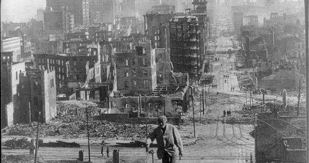 In pictures: the San Francisco earthquake of 1906