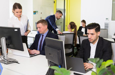 No partitions between desks may be 'healthier' for office workers
