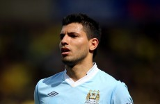 Aguero and van Persie lead PFA Player of the Year list