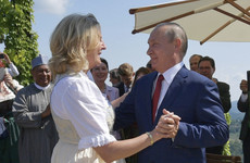 Putin defends 'private' trip to Austrian FM's wedding after dance photos emerge