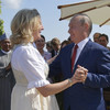 Putin defends 'private' trip to Austrian FM's wedding after dance photos emerge