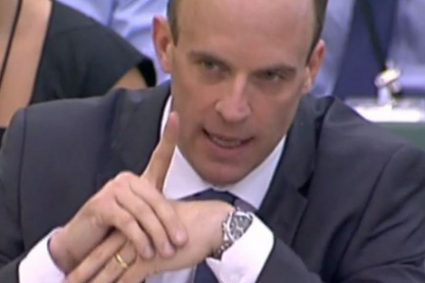 Dominic Raab has promised unilateral action in the event of a no-deal Brexit