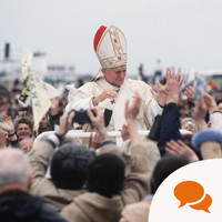 I was there when Irish journalists sang for the Pope. I can confirm there was no drink taken