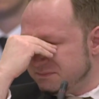 VIDEO: Breivik cries as he watches his own propaganda video