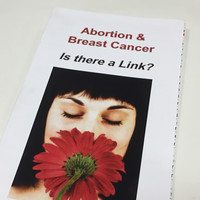 Leaflets making false link between abortion and cancer on offer at World Meeting of Families