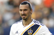 'All of you should enjoy it while I'm here', Ibra tells LA