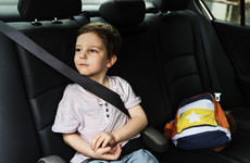 New research shows 10% of children do not wear seatbelts while travelling on Irish roads