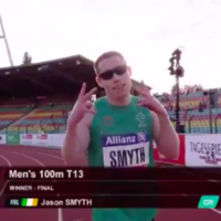 Make mine a double! Ireland's Jason Smyth delivers another sprint gold with superb 100m display