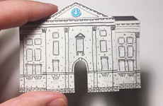 Trinity College in 2D: 12 Irish landmarks brilliantly re-created with paper