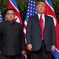 Donald Trump acknowledges North Korea is not making progress on denuclearisation