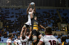 Hughes helps himself to a hat-trick as Wasps see off McFarland's Ulster