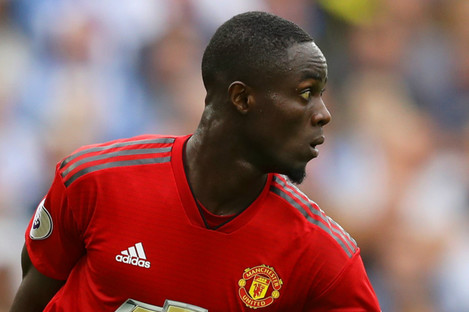 Eric Bailly: faced criticism for performance last weekend.